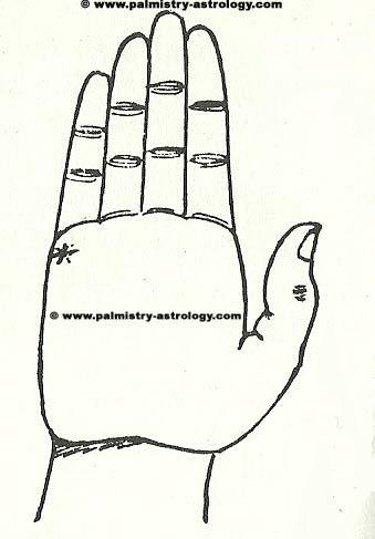 Palmistry marriage line timeline